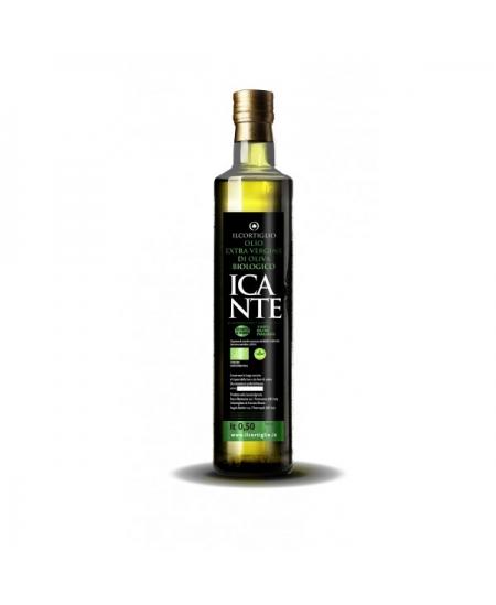 Incante Bio lattina di olio extra vergine di oliva biologico - 500 ML - Il Cortiglio Rocca Normanna