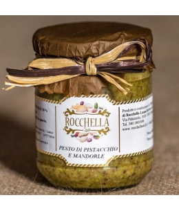 Pesto Di Pistacchio e Mandorla - Sicily RC & C.