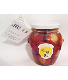 Peperoncini Piccanti Ripieni con Olio di Semi di Girasole - Calabria Sapori S.A.S.