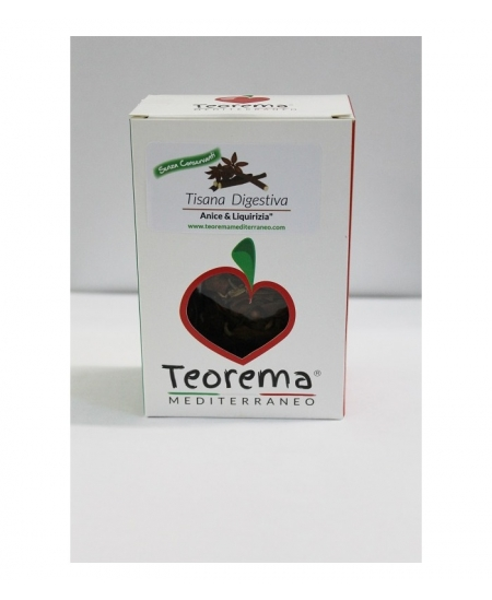 Tisana digestiva biologica - 50 gr.
