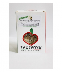 Carnaroli rice with porcini mushrooms - 200 gr. Gluten Free